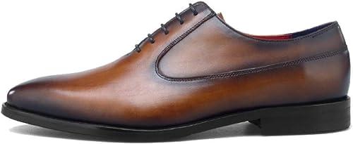 YCGCM zapatos De Hombre, De Encaje, De Negocios, Británicos, Retro, Casuales, Usables, zapatos Bajos, Transpirables