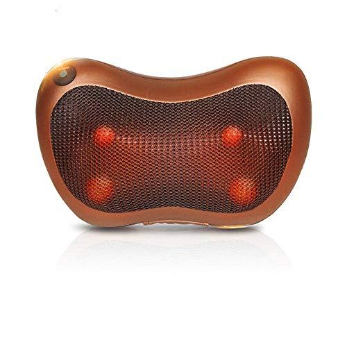 QXXNB Shiatsu Comfy elektrischeMassage Kissen Auto nach Hause multifunktionale Halswirbelsäule Massagegerät Taille