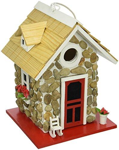 Home Bazaar hb-6004s Feldstein (Baumaterial) Guest Cottage Vogelhaus–Stein