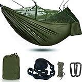 Camping Survival Tree Net Hammock,Lightweight...