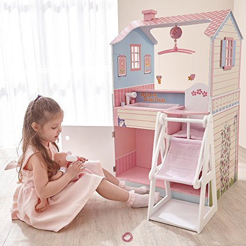 A nursery center for dolls is the perfect gift for 3-year-old girls who love dolls