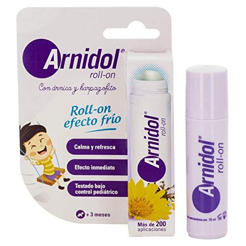 Arnidol - Roll-On 15 ml, schont und erfrischt bei leichten Schlägen, Arnika und Harpagofito