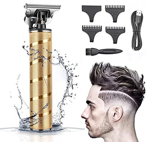 Haarschneidemaschine Profi, Haarschneider Herren Elektrisch Haartrimmer, Barttrimmer für Männer,Langhaarschneider Bartschneider Schnurlose Elektrisch Haartrimmer,Wiederaufladbar