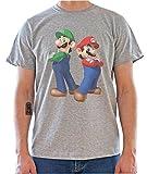 DreamGirl Super Mario Bros. Graphics Mens T-Shirt Large