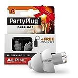 Alpine PartyPlug Gehörschutz Ohrstöpsel für Party, Musik, festivals, Disco und Konzerte sicher genießen - Hohe Musikqualität +...