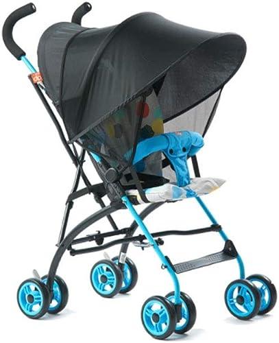 tomar hasta un 70% de descuento HYJ Cochecito de bebé bebé bebé Cochecito Plegable Ligero Seguro Toldo Cochecito Ajustable ( Talla   467497CM , Style   C )  a la venta