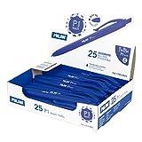 Caja expositora 25 bolígrafos P1 touch azul