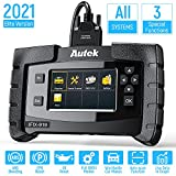 NEXAS All Systems Diagnostic Scanner 919 Universal Scanning Tool with ABS Bleeding EPB & Oil Reset Service Full OBDII Code Reader for Engine Transmission Airbag TPS HVAC SAS[New Version]