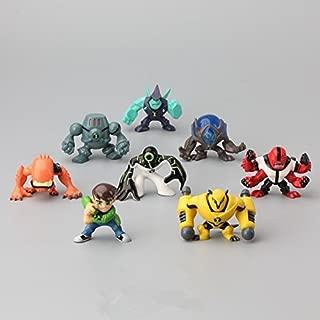 New 8Pcs/Set Ben 10 Action Figures Toys 3-5CM Protector Of Earth PVC Ben 10 Brinquedo Doll