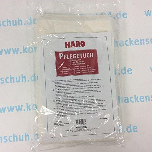 10 x Pflegetuch von Haro für Parkett und Laminatböden - 10 Pflegetücher