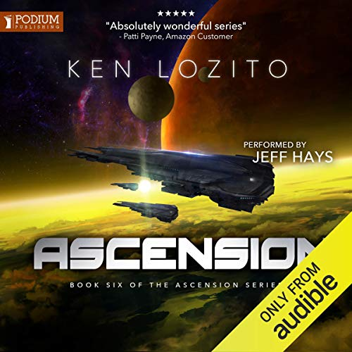 Ascension audiobook cover art