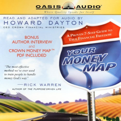 Your Money Map audiobook cover art