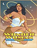 WONDER WOMAN: Coloring book This is a fun book. I have a lot of funny cartoons in this book and a lot of tempting moments that will touch your mind.