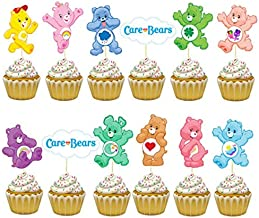 "CARE BEARS /& COUSINS 8/"" ICING CAKE TOPPER"