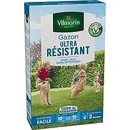 Vilmorin – Gazon Ultra Résistant 250gr