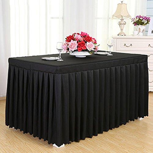GBBD Tischdecken Konferenz Tischdecke Kaltes Speisetisch Rock Rock Sign In Schreibtisch Rock Ausstellung Aktivitäten Tischdecke Weiß Tischdecke Tisch Sets Tischtuch (Farbe : D, größe : 7#)