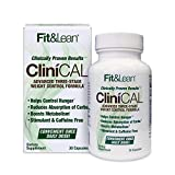 Fit & Lean Clinical Weight Loss Diet Pill, Once Daily Appetite Control, Boost Metabolism, Stimulant Free Fat Burner 30Count