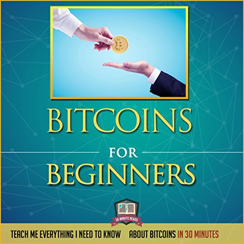 Bitcoins for Beginners audiobook cover art