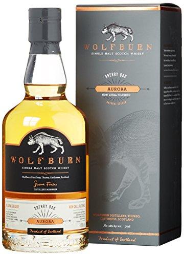 Wolfburn AURORA Single Malt Scotch Whisky 46% Vol. 0,7 l + GB