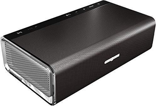 Creative Sound Blaster Roar SR20A Tragbarer Bluetooth-Lautsprecher (NFC-Funktion/AAC/aptX, 5 Treiber, integrierter Subwoofer) schwarz (Zertifiziert und Generalüberholt)
