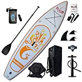 Best Paddle Boards - FunWater Inflatable 10'x31''x6'' Stand UP Paddle Board Ultra-Light Review