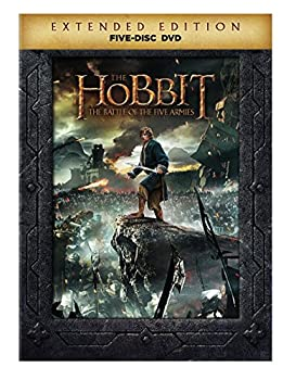 Hobbit The  Battle of the Five Armies  Extended Edition   DVD