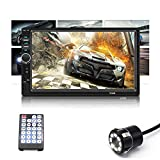 Auto Snap 7 Inch Car Double din Touch Screen Stereo Player with Bluetooth