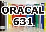 Oracal 631 - Orafol Folie 5m Rolle matt, 31 cm Folienhöhe für Wandtattoos rot - Markierungen, Beschriftungen und Dekorationen - Klebefolie - Plotterfolie - Wandschutzfolie - Möbelfolie -...