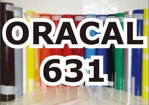 Oracal 631 - Orafol Folie Meterware matt, 100 cm Folienhöhe für Wandtattoos weiß - Markierungen, Beschriftungen und Dekorationen - Klebefolie - Plotterfolie - Wandschutzfolie - Möbelfolie - Fahrzeugfolie - selbstklebend - Küchenfolie - Dekofolie - Möbel - Aufkleber - Folie