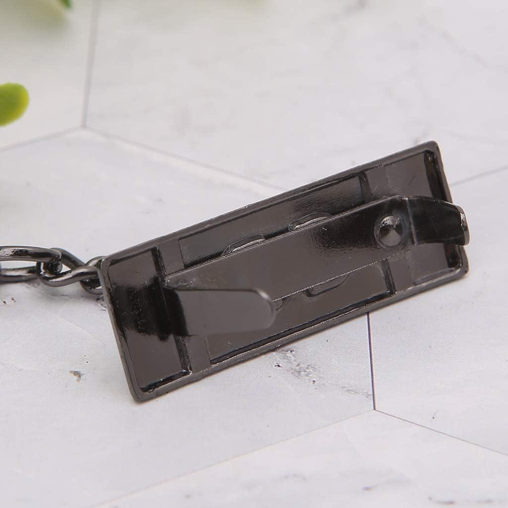 Exing Tasche Anh/änger,Hirsch Anh/änger Metall Dekoration f/ür DIY Handtasche Handwerk Umh/ängetasche Hardware Hellgold
