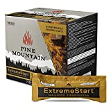 Pine Mountain ES 24CT ExtremeStart Wrapped Starters, 24 Starts Firestarter Log for Campfire, Fireplace, Wood Stove, Fire Pit, Indoor and Outdoor Use, Piece