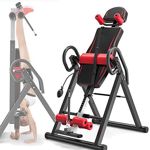 Grist CC Casa Panca Ad Inversione, Professionale Regolabile Attrezzatura per Il Fitness, Robusto Apparecchio Spinale