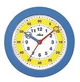 Atlanta Reloj de Pared para niños, Color Azul – 4481-5