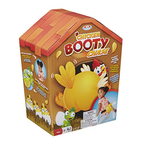 Ideal Chicken Booty Chase Kids Party Game, Yellow