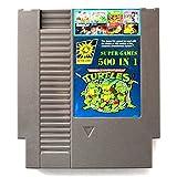 Emily - Cartucho de Juego para Nintendo Nintend NES contra TMNT Bubble Grey 500 en 1