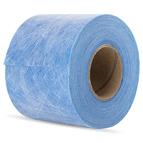 Wasserdichtes Membranband Abdichtungsband aus Polyethylen-Gewebe für Fliesen, Duschwände, Badezimmerböden, Sauna und Dampfbad (12,7 cm x 164 Zoll)