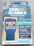 SUNPRO ACTRON FORD CODE SCANNER OWNER MANUAL (cp9015 car computer code reader domestic ford, linclon, mercury 1981 and newer with eec-1v or mcu engine computer control systems)