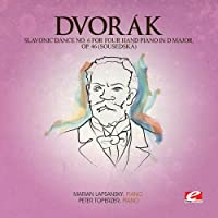 Slavonic Dance 6 Four Hand Piano D Maj 46