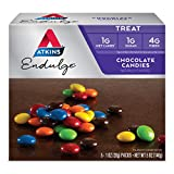 Atkins Endulge Choco Candies. Delicious Low Carb, Low Sugar Snack with...