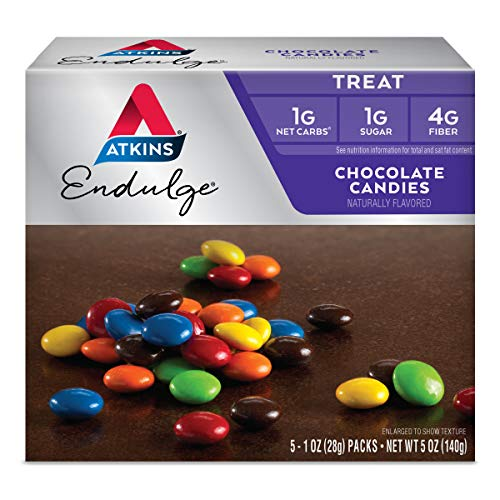 Atkins Endulge Choco Candies. Delicious Low Carb, Low Sugar Snack with Rich...