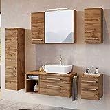 Lomadox Badezimmer Möbel Konfigurator Wotaneiche Nb. Jetzt selbst zusammenstellen