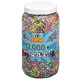 Hama - Bote de Hama midi mix, 13000 piezas , color/modelo surtido