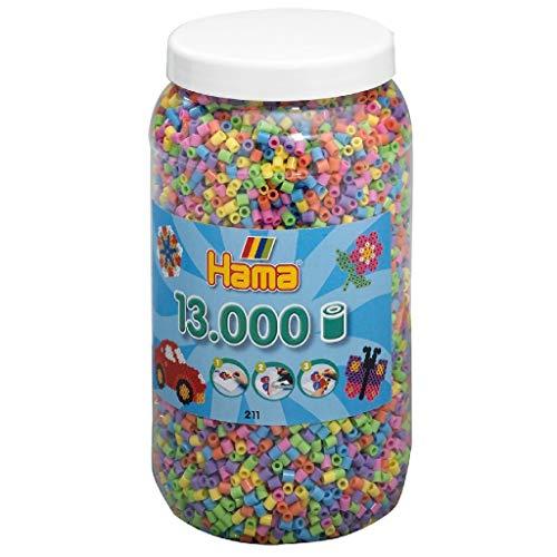 Hama - Bote de Hama midi mix, 13000 piezas