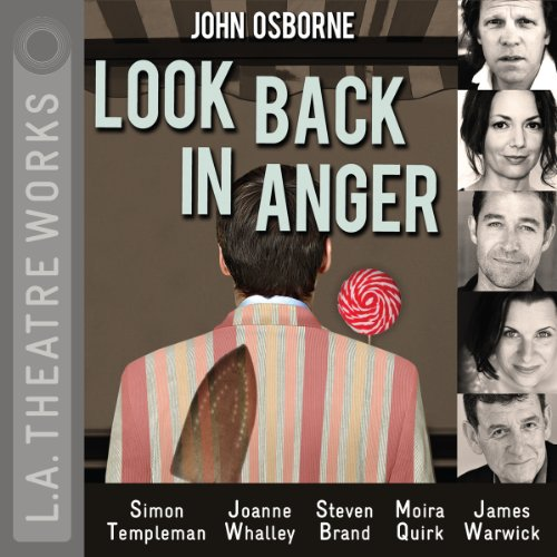 Look Back in Anger audiobook cover art