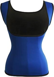 Women's Hot Sweat Slimming Neoprene Shirt Vest Body Shapers for Weight Loss Fat Burner Tank Top