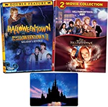 Halloweentown Complete 4 Movie Series Disney DVD Collection with Bonus Glossy Art Print (Halloweentown 1-2 High and Return to)