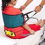Cinturón de transferencia de elevación de pacientes, dispositivo de elevación para personas mayores, cinturón de asistencia médica que ayuda a transferir el coche, silla de ruedas o cama.