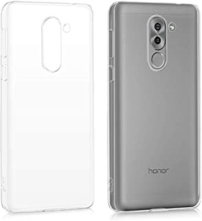 Silicone Back Case Cover By Ineix For Huawei Honor 6X - CLEAR