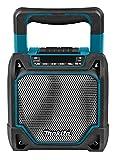 Makita Speaker Portatile da Cantiere Bluetooth e USB DMR202