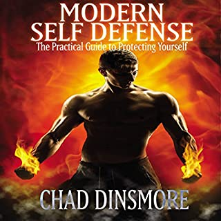Modern Self Defense audiobook cover art